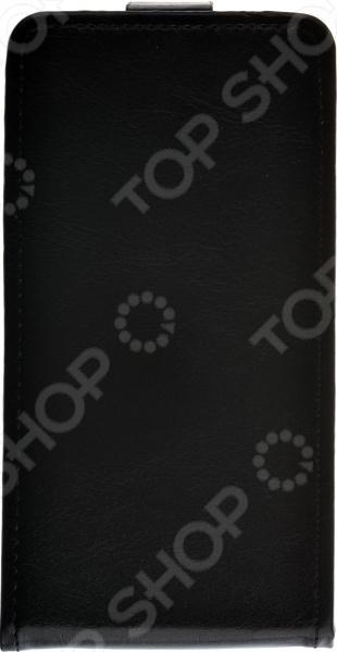 Чехол-флип skinBOX Huawei P8 Lite чехол книжка it baggage для смартфона huawei p8 lite искусственная кожа черный
