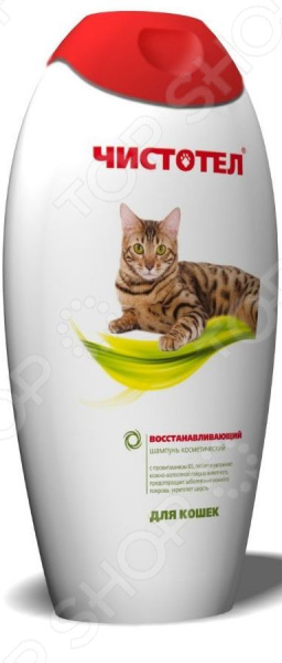 Шампунь для кошек Чистотел восстанавливающий