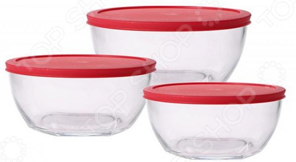 Набор контейнеров Bergner BG-5723 набор контейнеров для продуктов patricia im99 5290