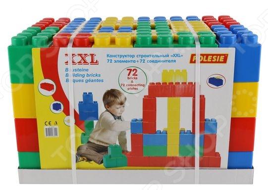 Конструктор строительный Wader XXL. Количество элементов: 144 шт Конструктор строительный Wader XXL. Количество элементов: 144 шт /