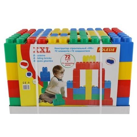 Купить Конструктор строительный Wader XXL. Количество элементов: 144 шт