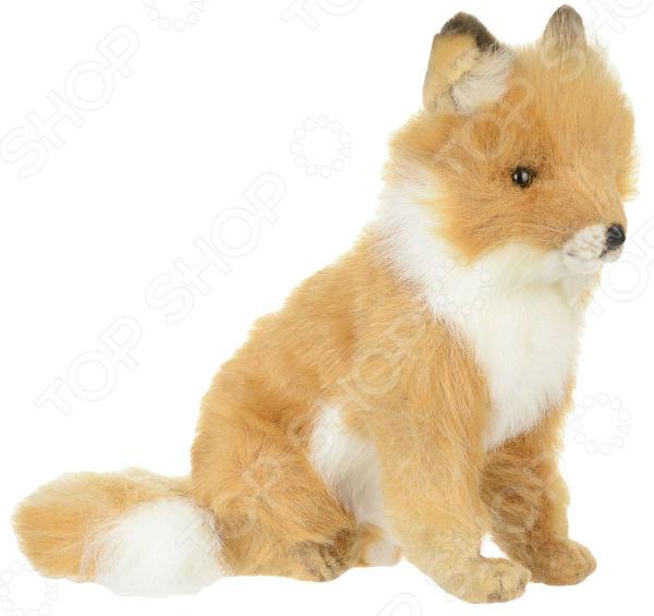 Мягкая игрушка Hansa «Лисица сидящая» большую мягкую игрушку собаку лежа в москве
