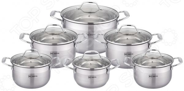 Набор посуды для готовки Rainstahl RS-1210-12 набор посуды rainstahl 8 предметов 0716bh