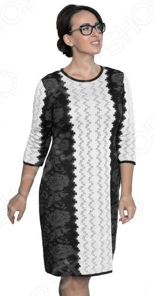 Платье Milana Style «Воплощение мечты». Цвет: темно-синий платье milana style milana style mi038ewxjv28