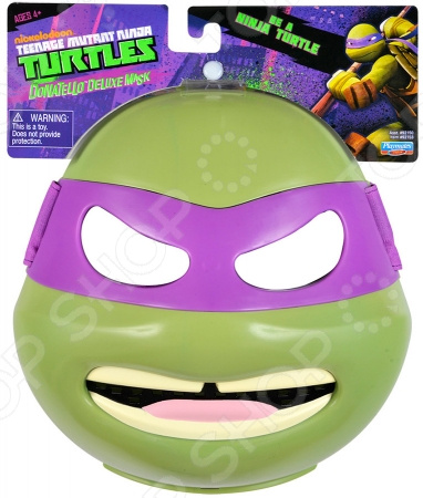 Маска супер-героя Turtles «Донателло» игровые фигурки turtles машинка черепашки ниндзя 7 см сплинтер на атаке сенсея