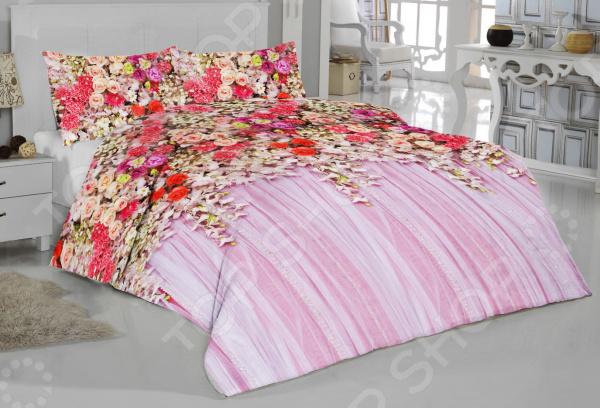 Комплект постельного белья ТамиТекс «Дивный сад». 1,5-спальный