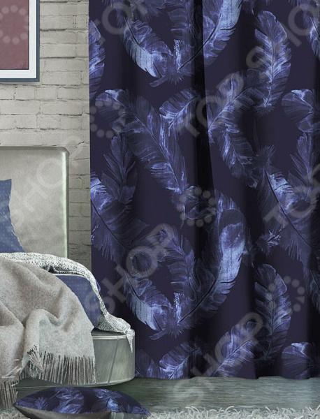 Домашний текстиль, в частности, шторы и гардины важная составляющая любого интерьера, ведь именно они делают помещение более уютным. Но как и любой другой элемент декора, шторы способны как подчеркнуть положительные стороны выбранного стиля интерьера, так и нарушить сложившуюся стилистическую и визуальную гармонию в вашем доме. С умом подобранные шторы способны преобразить вашу комнату, сделать её более светлой или уединенной, яркой или более спокойной, визуально больше или уютней. Обновить интерьер теперь просто! Штора блэкаут Волшебная ночь Magic это идеальный вариант для вашей гостиной, спальни, гостевой. Прочная, плотная и качественная штора не только стильно оформит оконное пространство, но и позволит правильно расставить акценты в интерьере, скрыть небольшие недостатки в отделке. Особенность данной модели заключается в стильном современном принте и насыщенной цветовой гамме. Такие шторы одинаково понравится ценителям классики и тем, кто следит за модными тенденциями!  Главная особенность и достоинство этой шторы заключается в материале, из которого она выполнена. Блэкаут это плотная, прочная и удивительно износостойкая ткань, которая обладает рядом достоинств:  светонепроницаемая, поэтому вы сможете легко регулировать степень освещенности в комнате;  этот приятный на ощупь материал прост в уходе, устойчив к загрязнениям и хорошо сохраняет тепло;  сохраняет свой первоначальный внешний вид после многочисленных стирок, не линяя и не теряя насыщенность, яркость цветов;  не накапливает статического электричества, поэтому не притягивает пыль.  за счет многослойной структуры надежно защищает от сквозняков.  Четыре ткани, четыре стиля, четыре степени Штора блэкаут Волшебная ночь Magic легко сочетается с другими изделиями из коллекции Волшебная ночь . Вы сможете дополнить и подобрать свою идеальную композицию, используя шторы из других тканей: сатена, габардина или вуали. Каждый тип ткани имеет свою степень светонепроницаемости от отсутствия затемнения до полной защиты