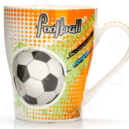 Кружка Loraine «Футбол» 26652-2 кружка loraine футбол 340 мл 26652