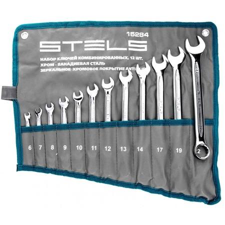 Купить Набор ключей комбинированных Stels 15284