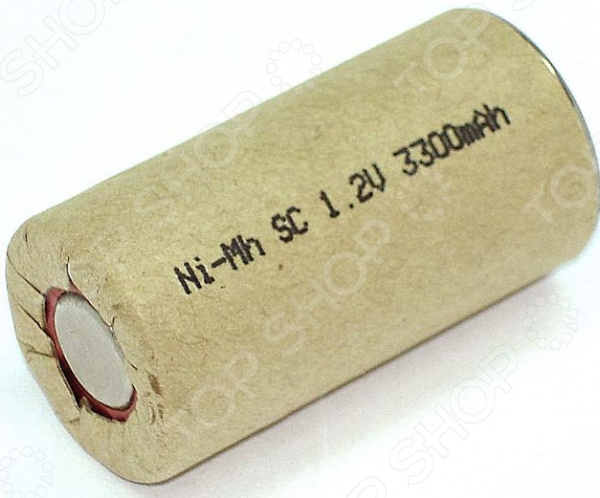 Аккумулятор Ni-Mh SC 1.2V 3300mAh аккумулятор таблеточного типа none 4 1 2v 40mah ni mh nimh