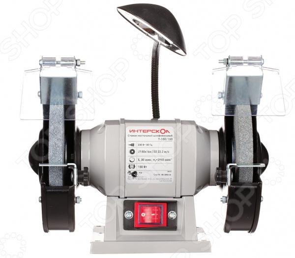 Точильный станок Интерскол Т-150/150 станки для заточки маникюрных щипчиков