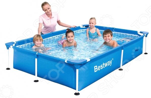 Бассейн каркасный Bestway 56401 каркасный бассейн bestway power steel deluxe 427x107 см 56664 13030 л