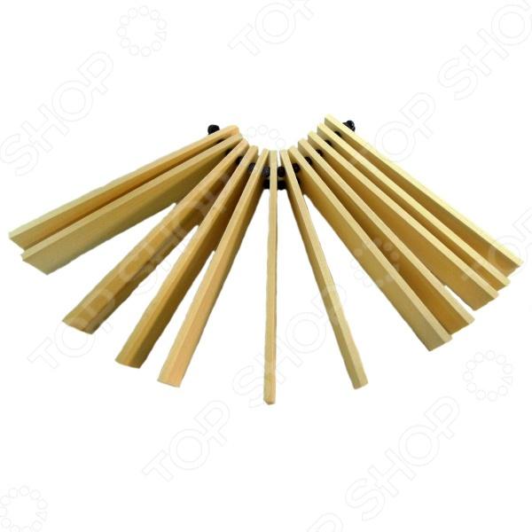 Музыкальный инструмент игрушечный RNToys «Трещотка веерная» игрушечный инструмент