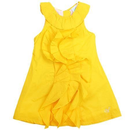 Купить Детское платье WWW Sunny days. Цвет: желтый