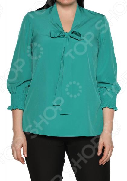 Блуза Blagof «Нежные очертания». Цвет: зеленый блуза blagof блуза мерси цвет персиковый