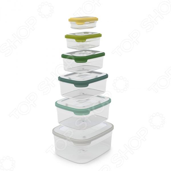 Набор контейнеров для хранения продуктов Joseph Joseph Nest 6 «Опал» joseph joseph контейнеры для хранения продуктов nest™3