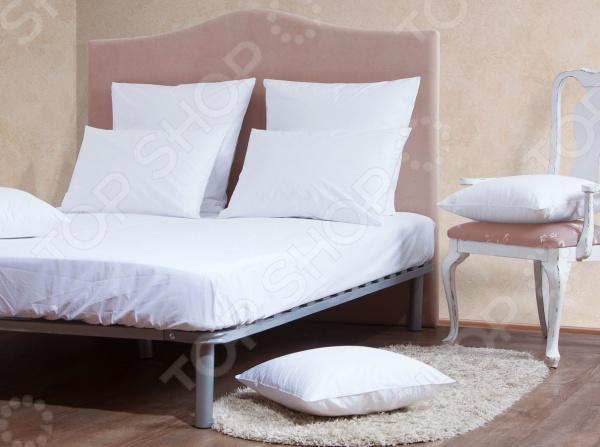 Комплект: простыня и наволочки MIRAROSSI White mirarossi veronica pink