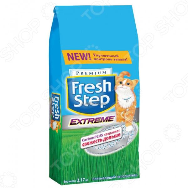 Наполнитель для кошачьего туалета Fresh Step Clay «Тройная защита»