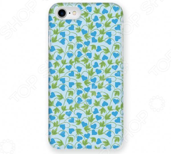 Чехол для iPhone 7 Mitya Veselkov «Сердца-растения»