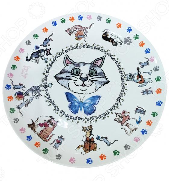 Набор тарелок десертных Gift'n'Home «Кошки-мышки»