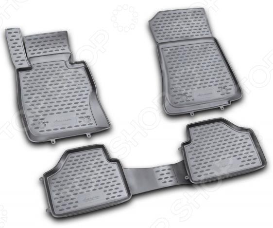 Комплект ковриков в салон автомобиля Novline-Autofamily BMW X1 2009-2015 novline nlc 05 15 210kh bmw x1 2009