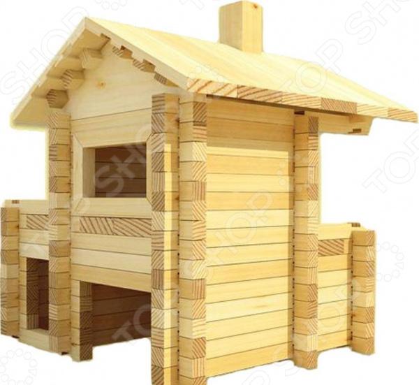 Конструктор деревянный Лесовичок «Разборный домик №3» moyou london плитка для стемпинга fairytale collection 12