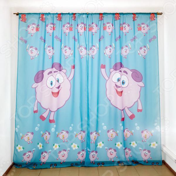 фото Комплект тюля детского Сирень «Поэт-Бараш», Портьеры для детской комнаты