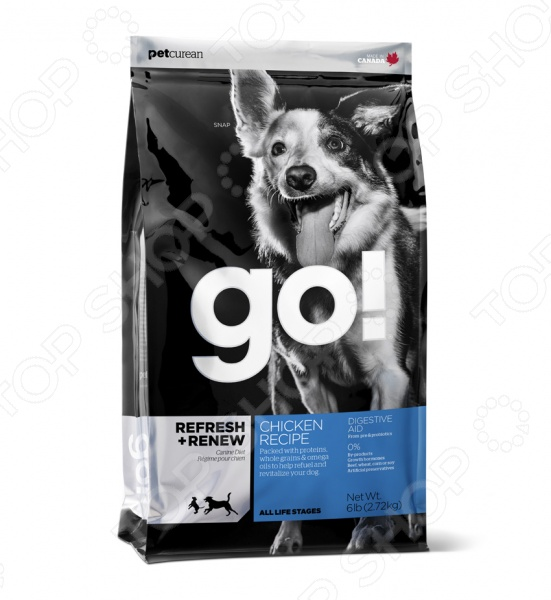 Корм сухой для щенков и собак Go! Daily Defence. Chicken Recipe
