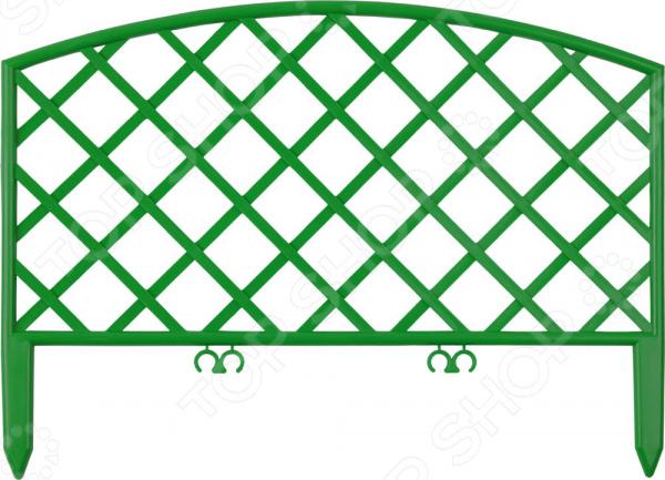 Забор декоративный «Решетка» деревянный забор из штакетника в караганде