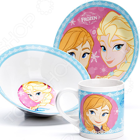 Набор детской посуды Mayer&Boch Disney «Снежная королева» 27001