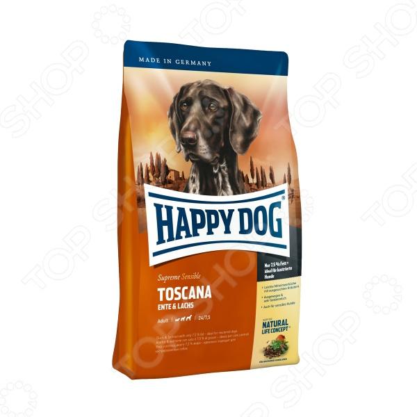 Корм сухой для собак Happy Dog Supreme Toscana сухой корм happy dog supreme sensible adult 11kg neuseeland lamb