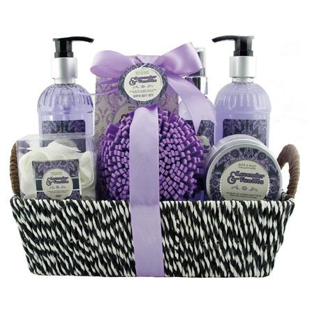 Купить Косметический набор для ванны Laura Amatti «Масло лаванды»: 10 шт.