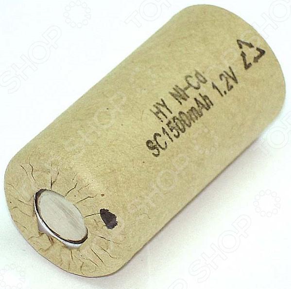 Аккумулятор Ni-Cd для электроинструмента 1500 mAh аккумулятор для hammerflex ni cd acd141b acd142