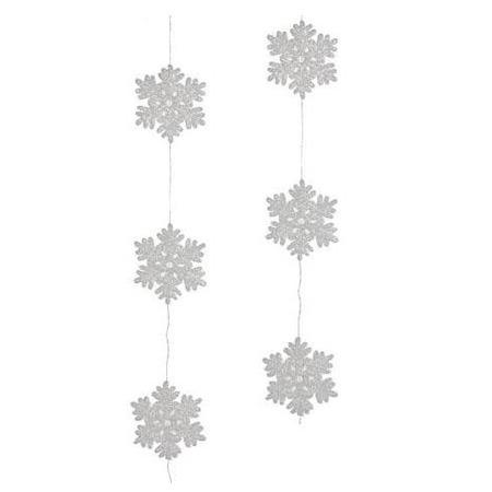 Купить Гирлянда декоративная Christmas House «Снежинки»