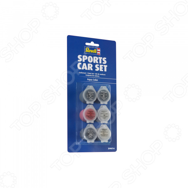 Набор акриловых красок Revell для спортивной машины
