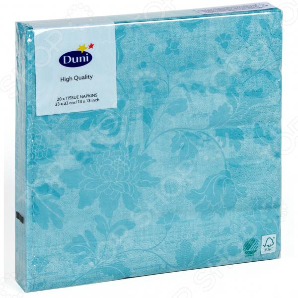 Салфетки бумажные Duni 167220