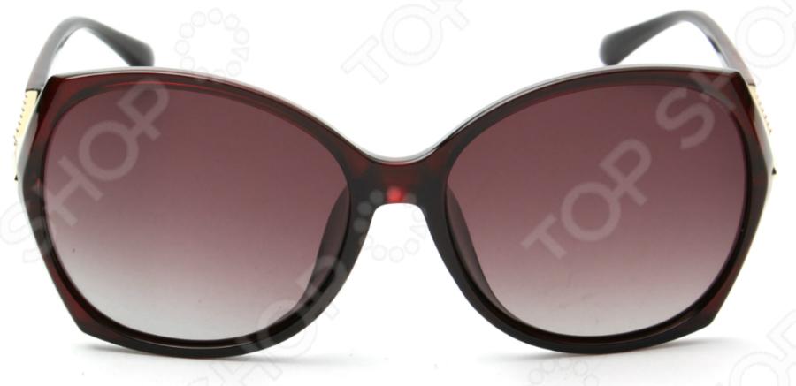Солнцезащитные очки Laura Amatti «Мистика». Цвет: коричневый 1