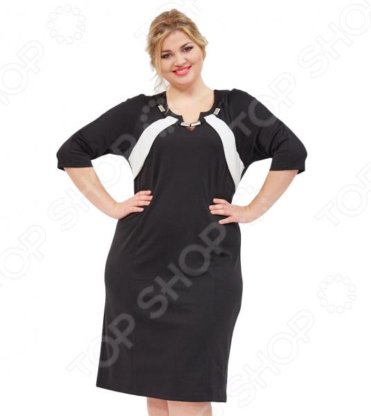 Платье Svesta «Леонарда». Цвет: черный, белый