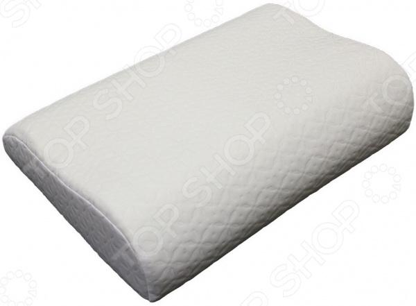 Подушка ортопедическая с эффектом памяти EcoSapiens Memory Plus анатомическая подушка с эффектом памяти