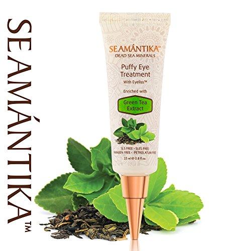 Лифтинг-крем от мешков под глазами с экстрактом зеленого чая Seamantika 1