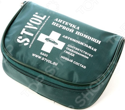 Аптечка автомобильная STVOL SA03 аптечка фэст работникам первой помощи