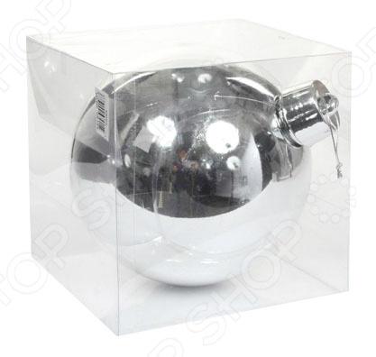Елочное украшение Christmas House «Шар» 1694655 украшение для интерьера сверкающий шар