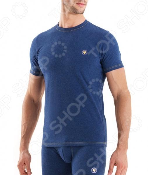 Футболка BlackSpade 9563. Цвет: голубой
