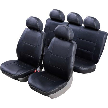 Купить Набор чехлов для сидений Senator Atlant Renault Sandero 2009-2014 слитный задний ряд