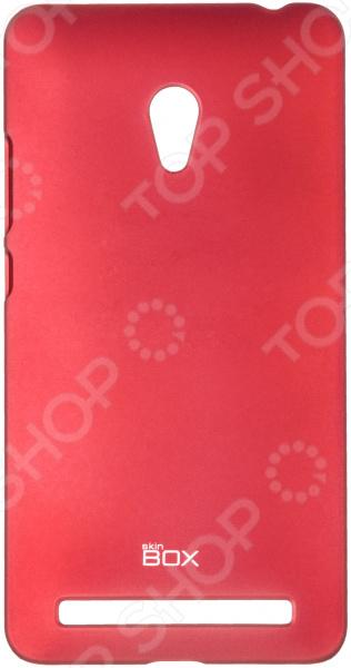 Накладка защитная skinBOX ASUS ZenFone 6 аксессуар чехол накладка asus zenfone c zc451cg cherry black 8270