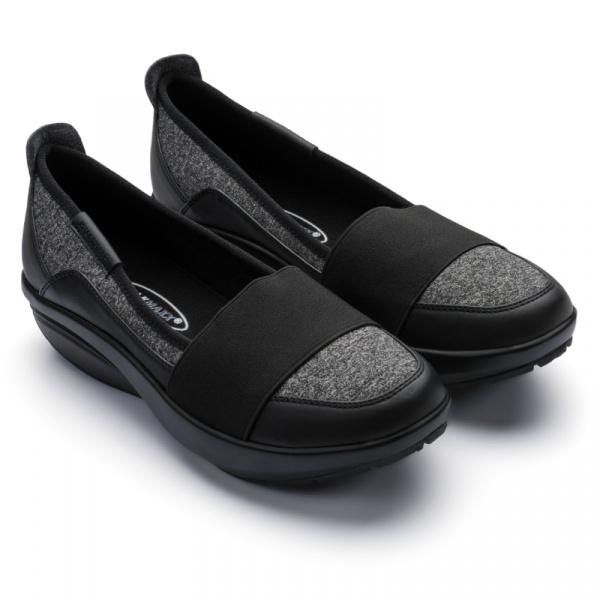 Балетки спортивные Walkmaxx Comfort 2.0. Цвет: черный