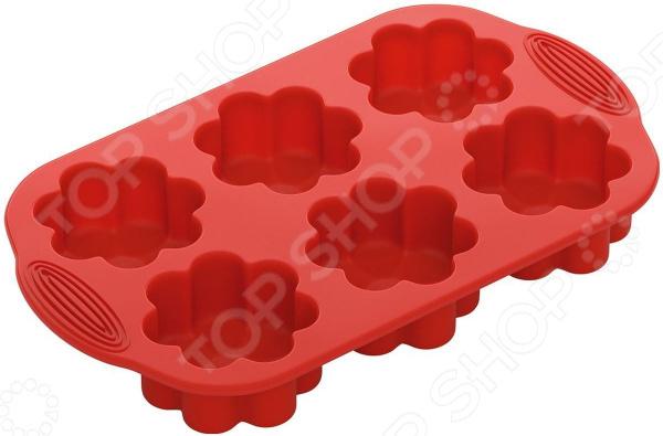 Форма для маффинов Nadoba Mila 762015 westmark форма для 6 ти маффинов красная
