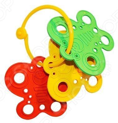 Игрушка-прорезыватель Пластмастер Бабочка незаменимая вещь, когда у малыша начинают резаться зубки. Изделие также можно использовать в качестве погремушки или подвесить над кроваткой. Изготовлено из мягкого пластика с учетом возрастных особенностей, поэтому безопасно для ребенка. Яркое оформление порадует и привлечет внимание малыша.
