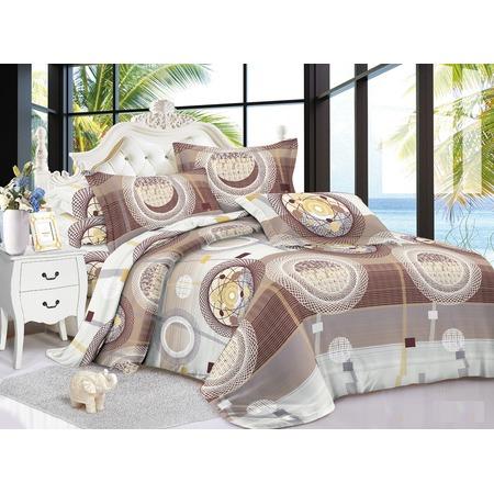 Комплект постельного белья «Зимний вечер». Евро. Рисунок: сфера
