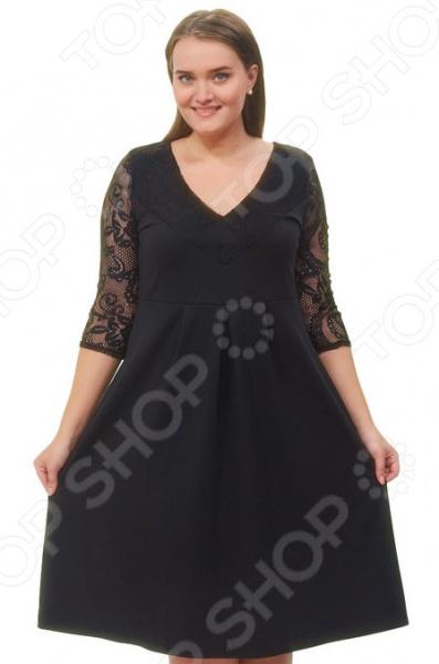 Платье Матекс «Чародейка». Цвет: черный